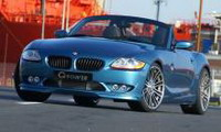bmw z4 g-power g4 evo iii: подружка бонда